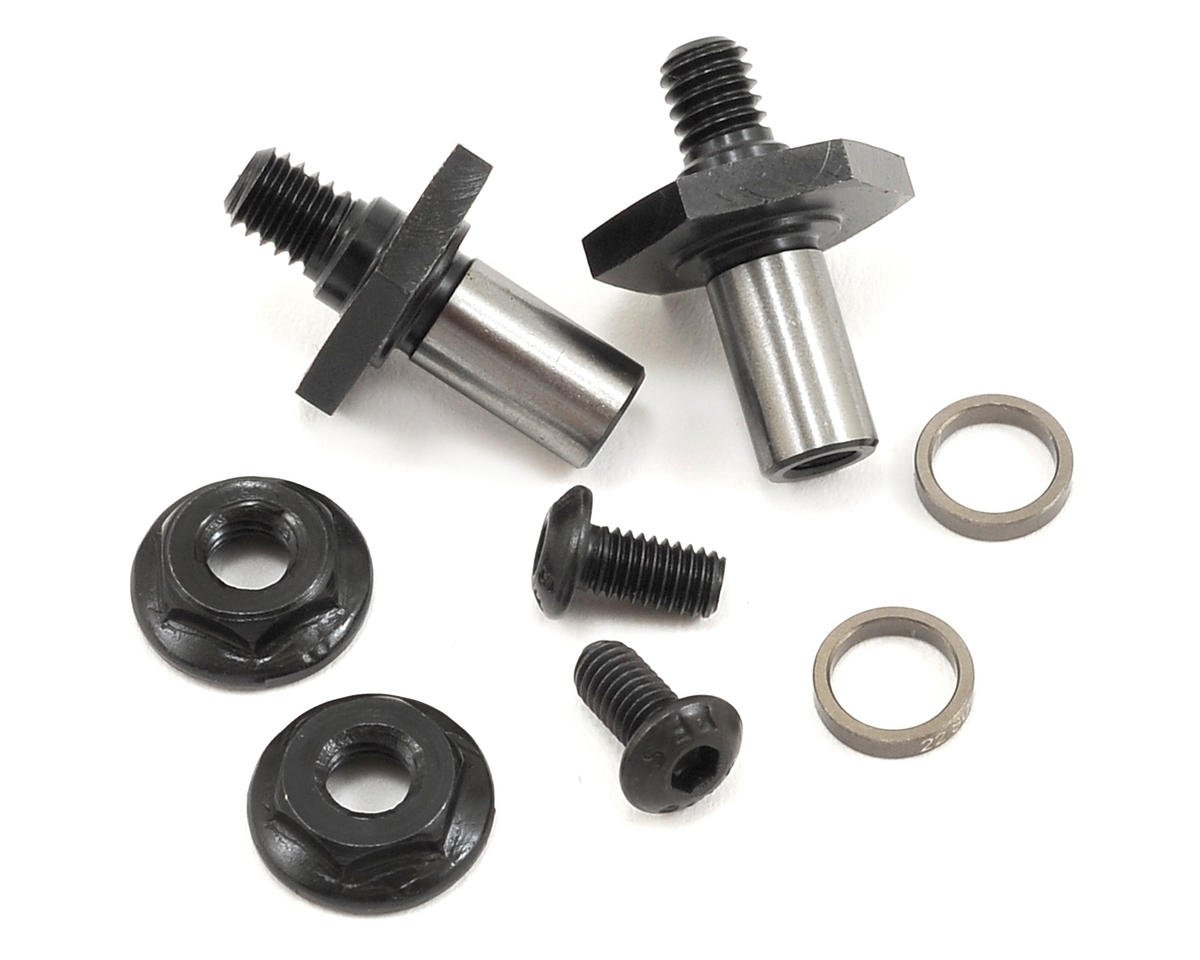 22 3.0 12mm Hex Front Axle Set by Team Losi Racing