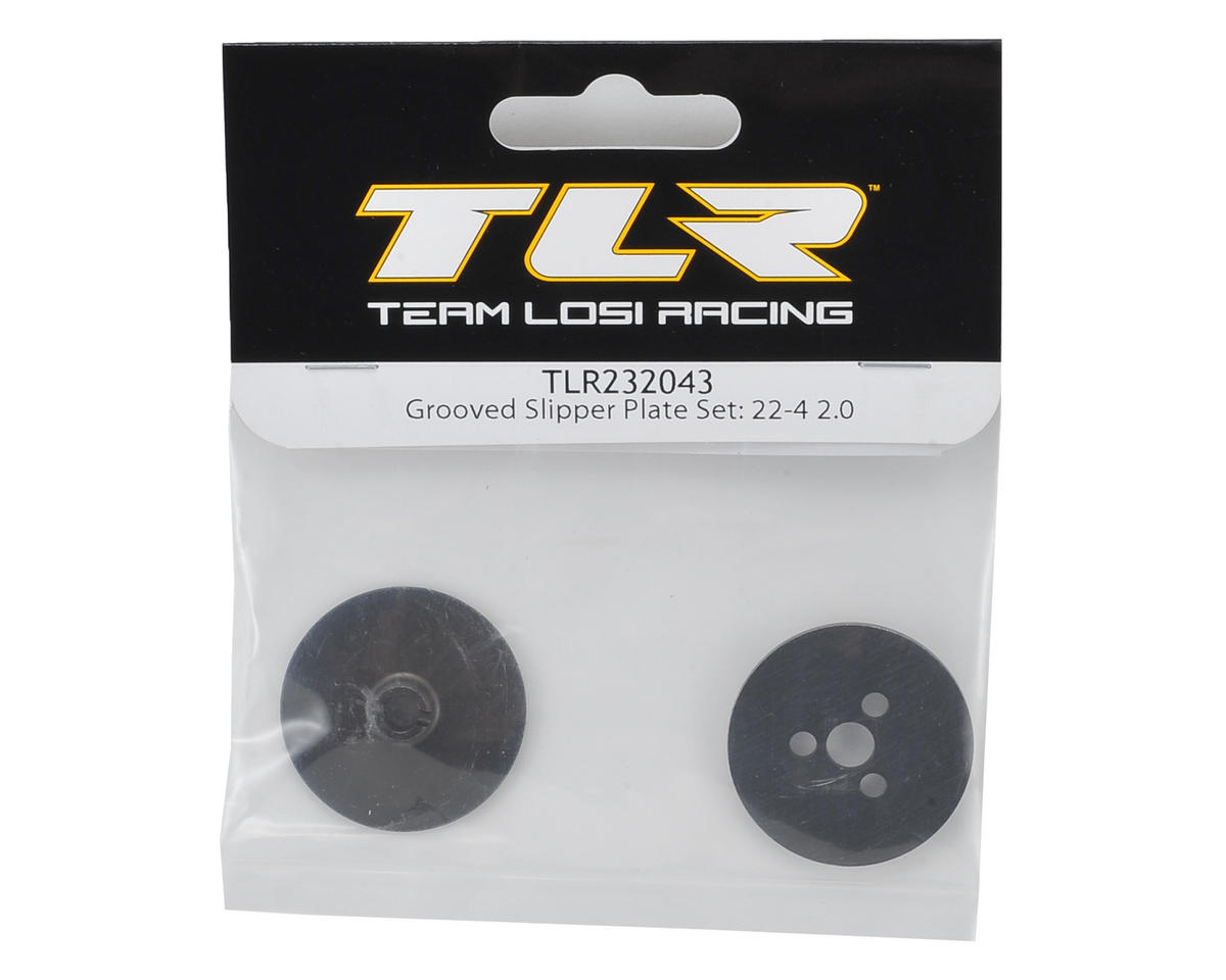 Team Losi Racing 22-4 2.0 Grooved Slipper Plate Set