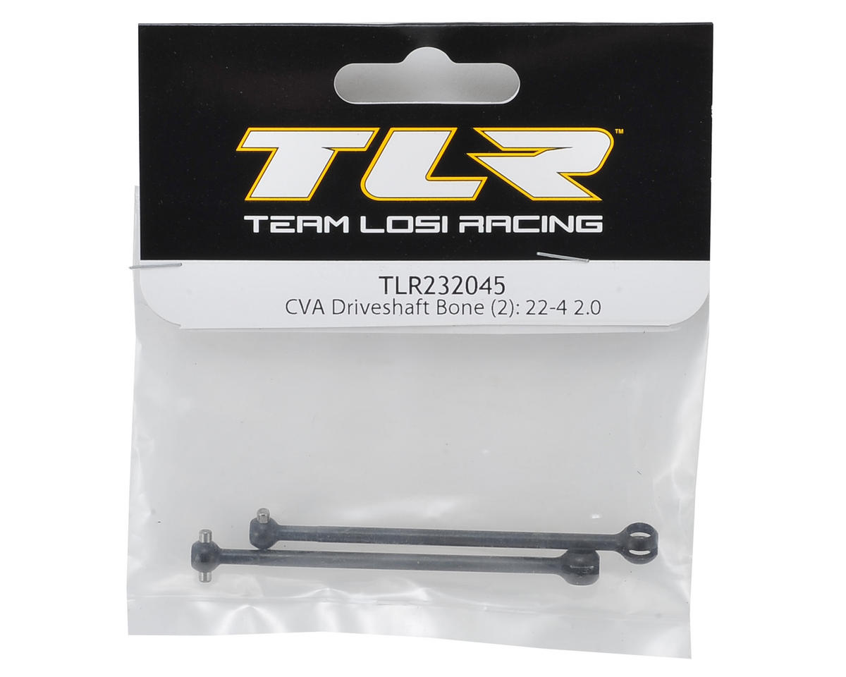 Team Losi Racing 22-4 2.0 CVA Driveshaft Bone (2)