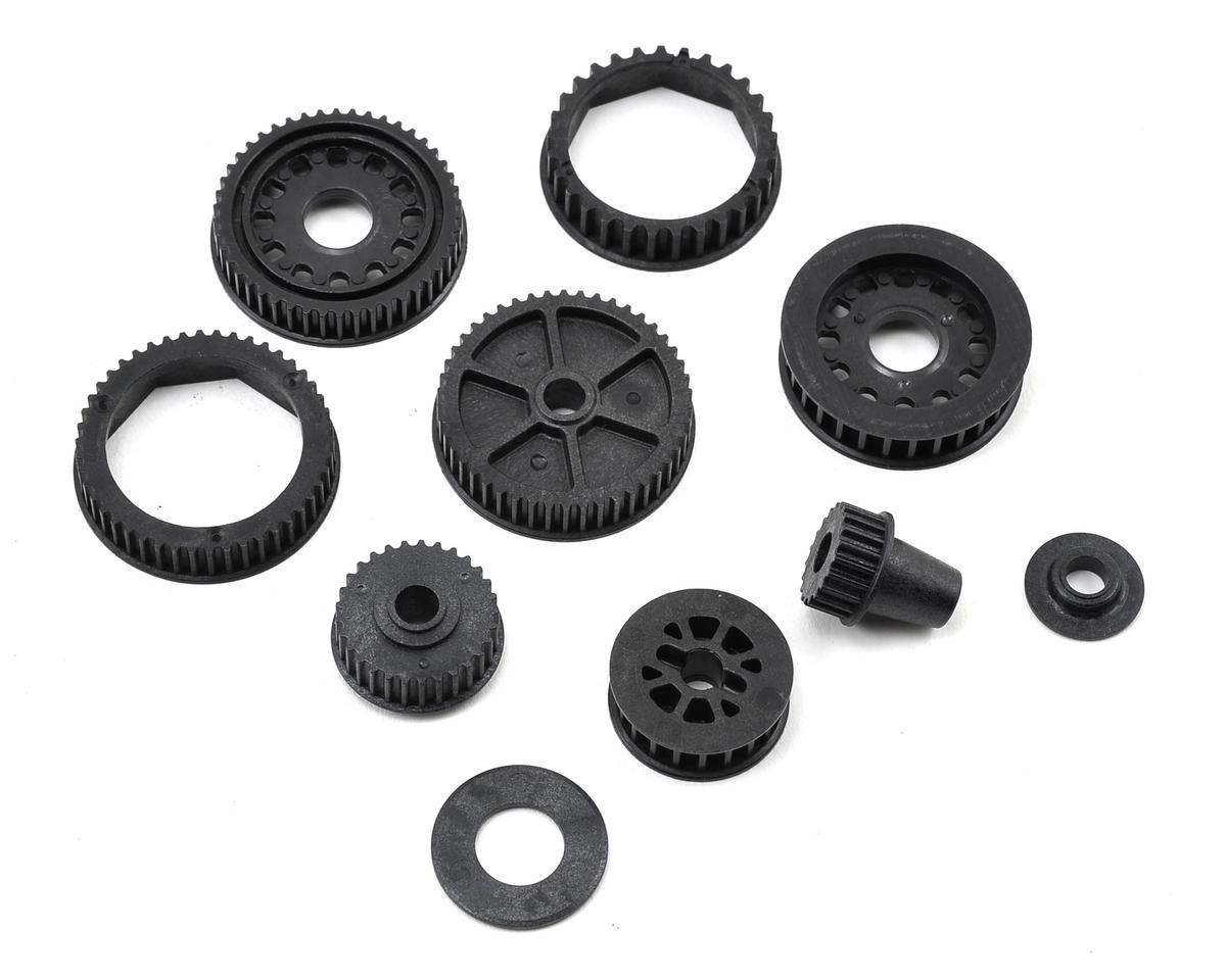 22-4 2.0 Drive & Differential Pulley Set by Team Losi Racing