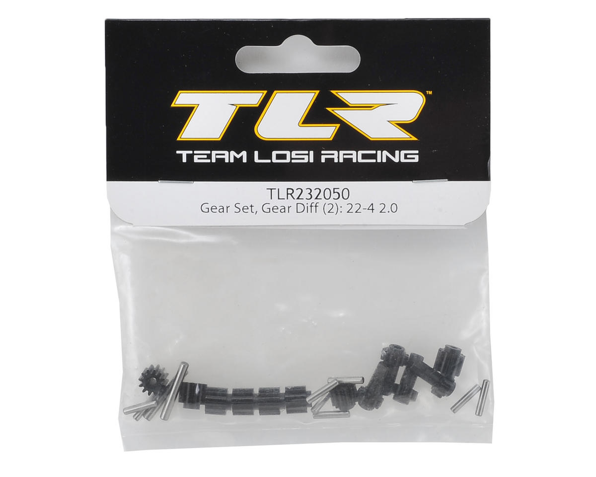 Team Losi Racing 22-4 2.0 Gear Differential Gear Set (2)
