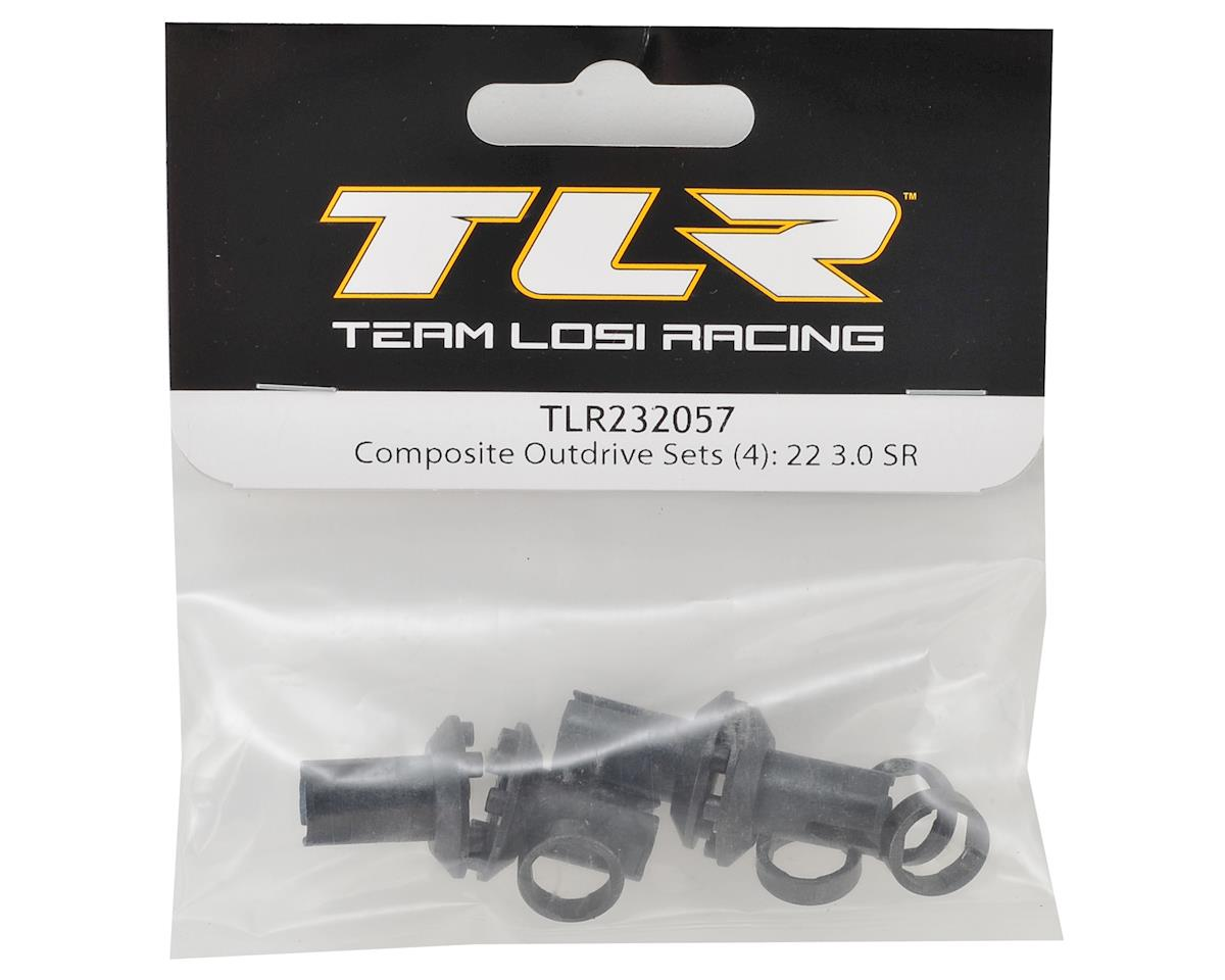 Team Losi Racing 22 3.0 SPEC-Racer Composite Outdrive (2)
