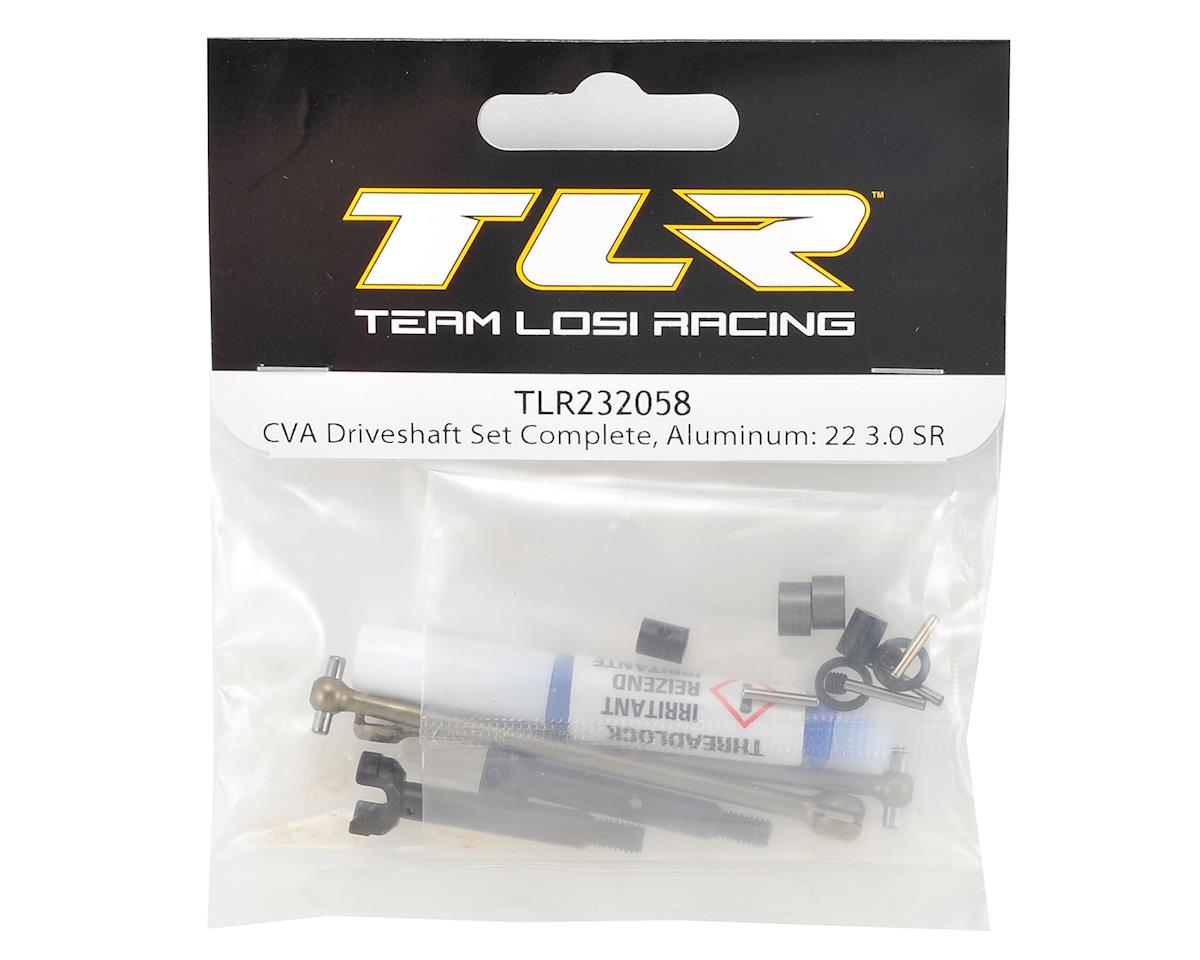 Team Losi Racing 22 3.0 SPEC-Racer Aluminum CVA Driveshaft Set