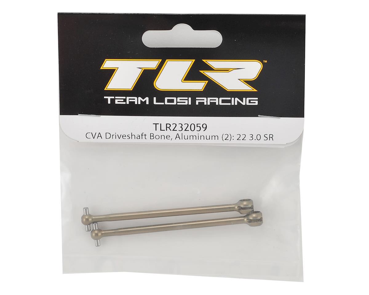 Image 2 for Team Losi Racing 22 3.0 SPEC-Racer Aluminum CVA Driveshaft Bone (2)