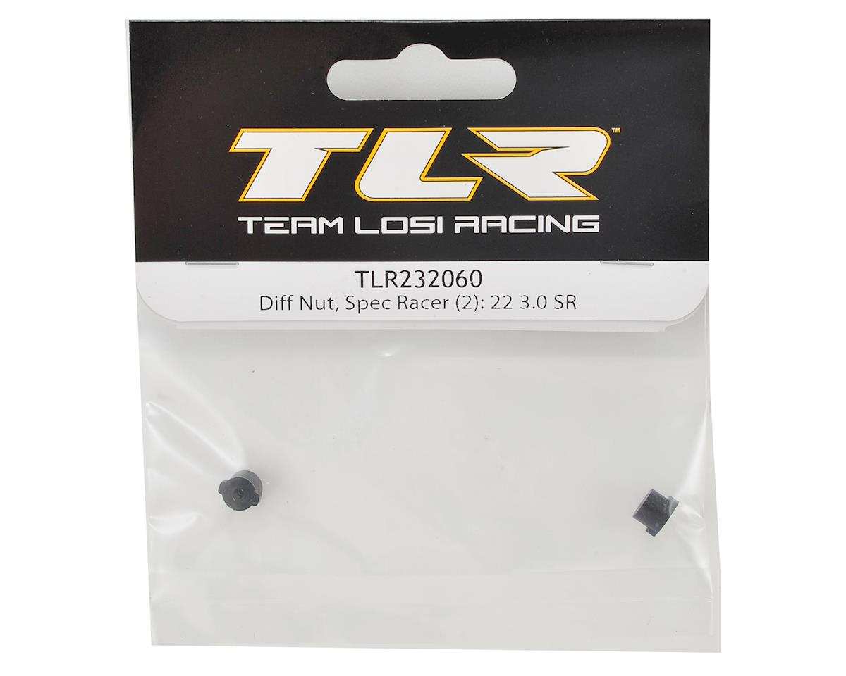Team Losi Racing 22 3.0 SPEC-Racer Differential Nut (2)