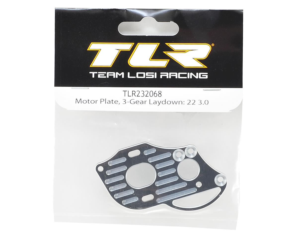 Team Losi Racing 22 4.0 3-Gear Laydown Motor Plate