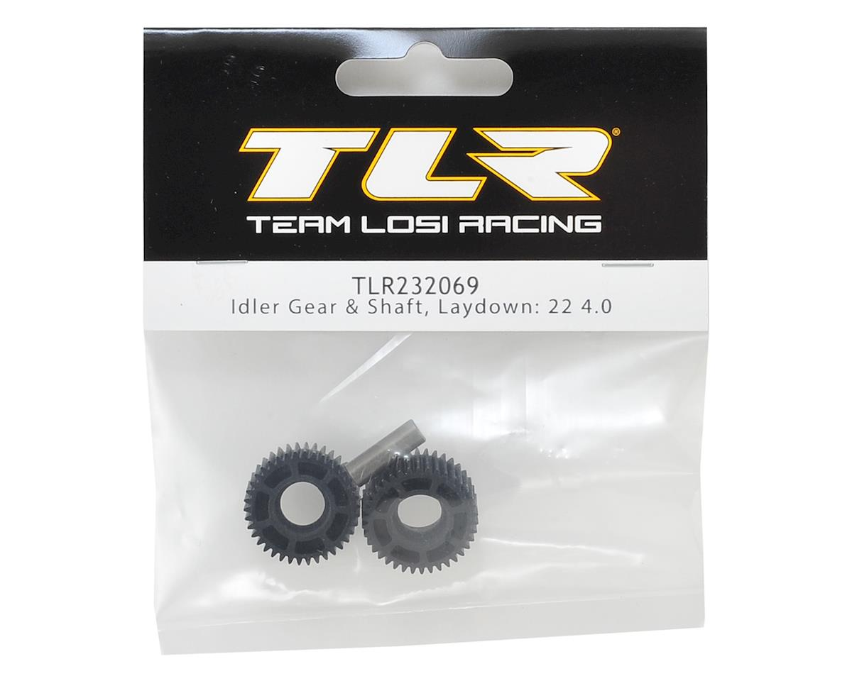 Team Losi Racing 22 4.0 Laydown Idler Gear & Shaft