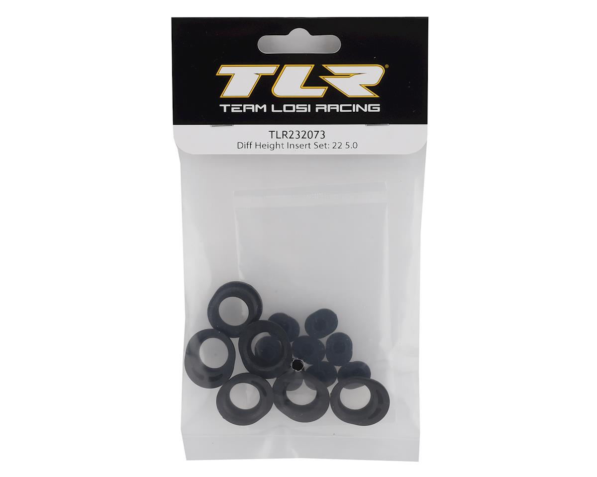 Team Losi Racing 22 5.0 Differnetial Height Insert Set