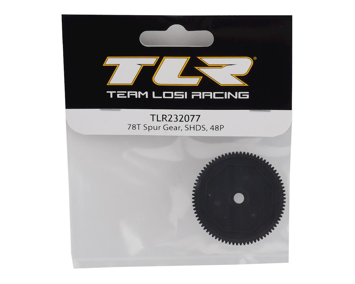 Team Losi Racing 48P SHDS Spur Gear (78T)