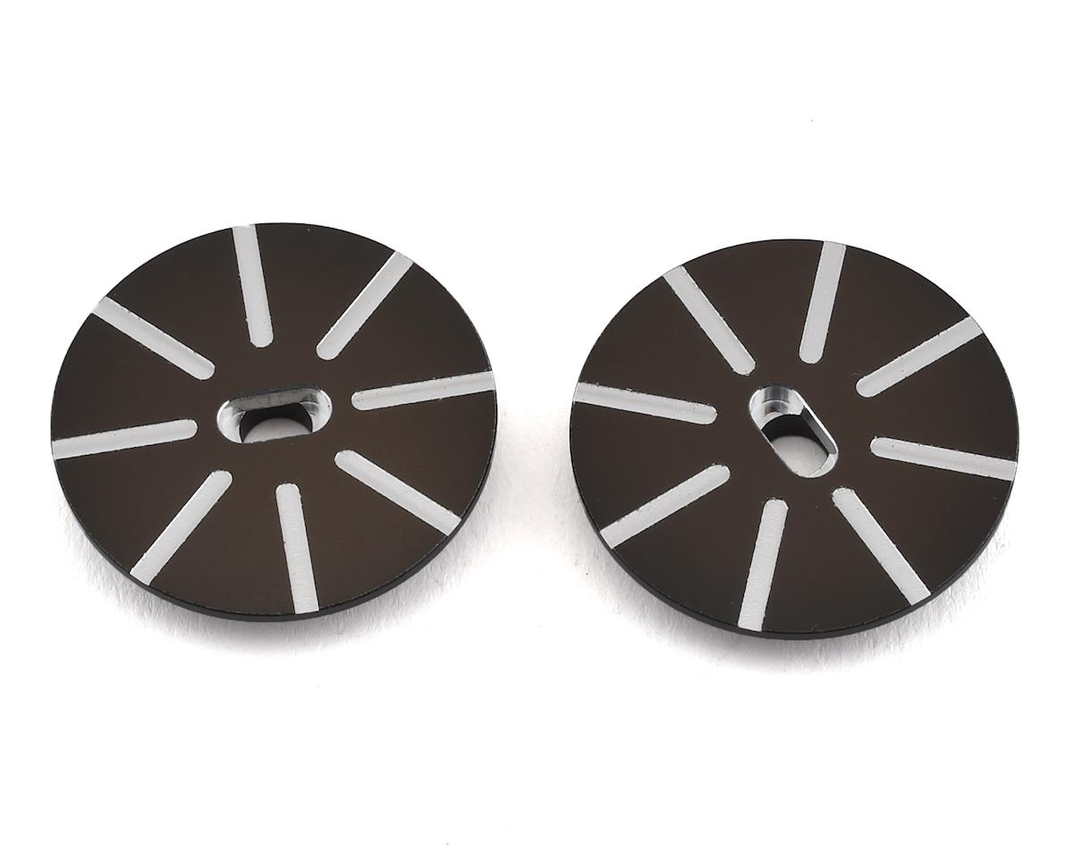 Team Losi 22 5.0 Elite Racing SHDS Grooved Slipper Plates (2)