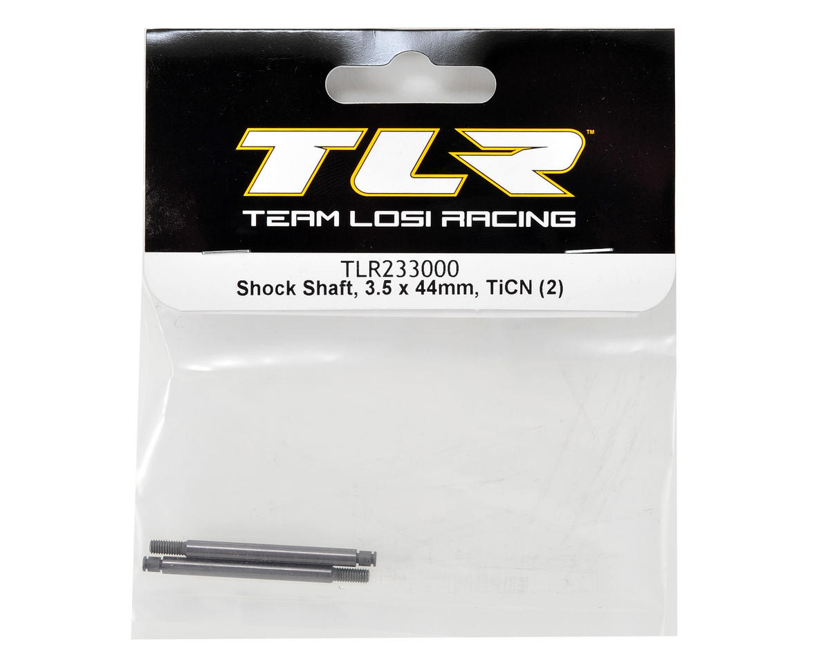 Team Losi Racing 22 2.0 3.5x44mm TiCN Front Shock Shaft (2)