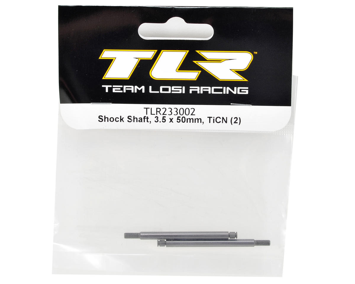 Team Losi Racing 22 2.0 3.5x50mm TiCN Rear Shock Shaft (2)