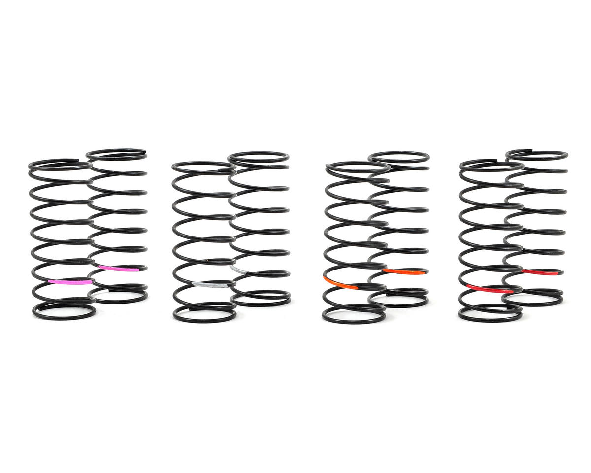 """""""Low Frequency"""" Front Spring Set (4 pair) by Team Losi Racing"""