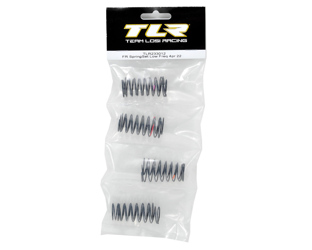 "Team Losi Racing ""Low Frequency"" Front Spring Set (4 pair)"