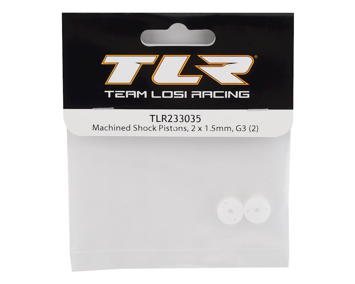 Team Losi Racing G3 Machined Shock Piston (2) (2x1.5)