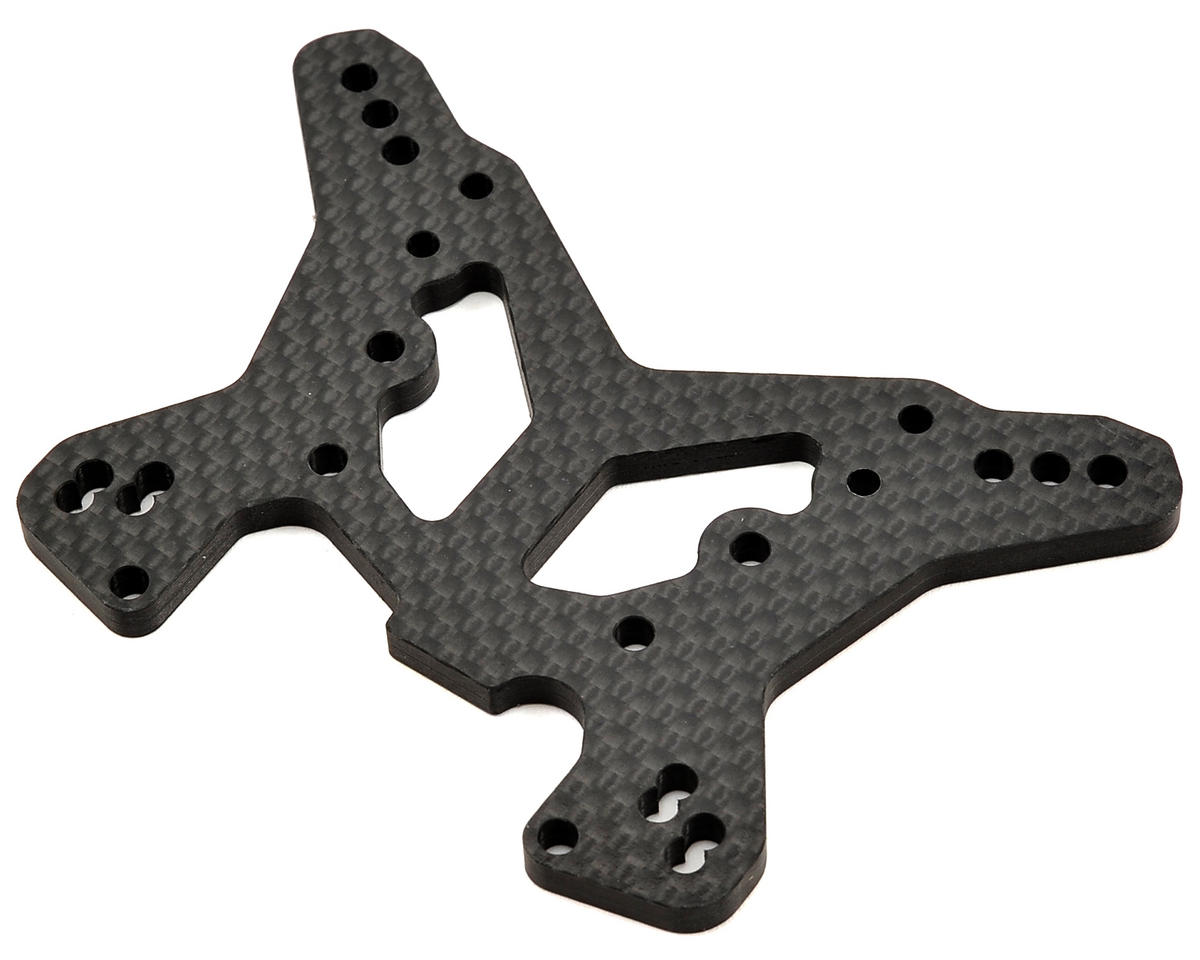 Team Losi Racing Carbon Rear Shock Tower