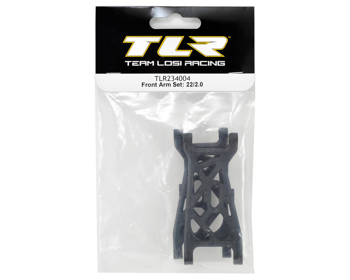 22 2.0 Front Arm Set by Team Losi Racing