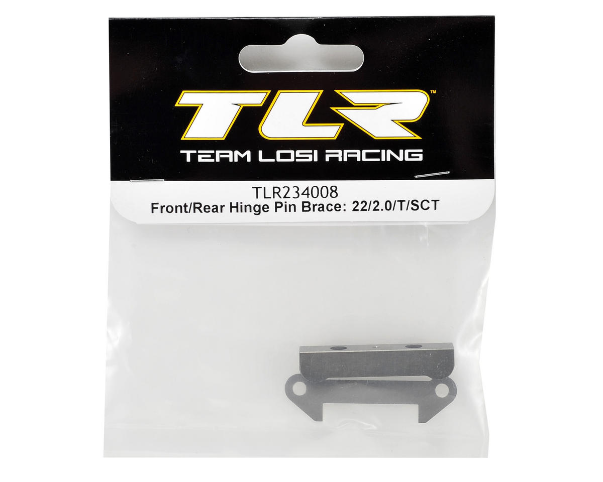 Team Losi Racing Front/Rear Hinge Pin Brace Set