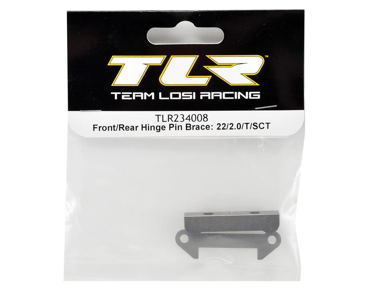 Front/Rear Hinge Pin Brace Set by Team Losi Racing