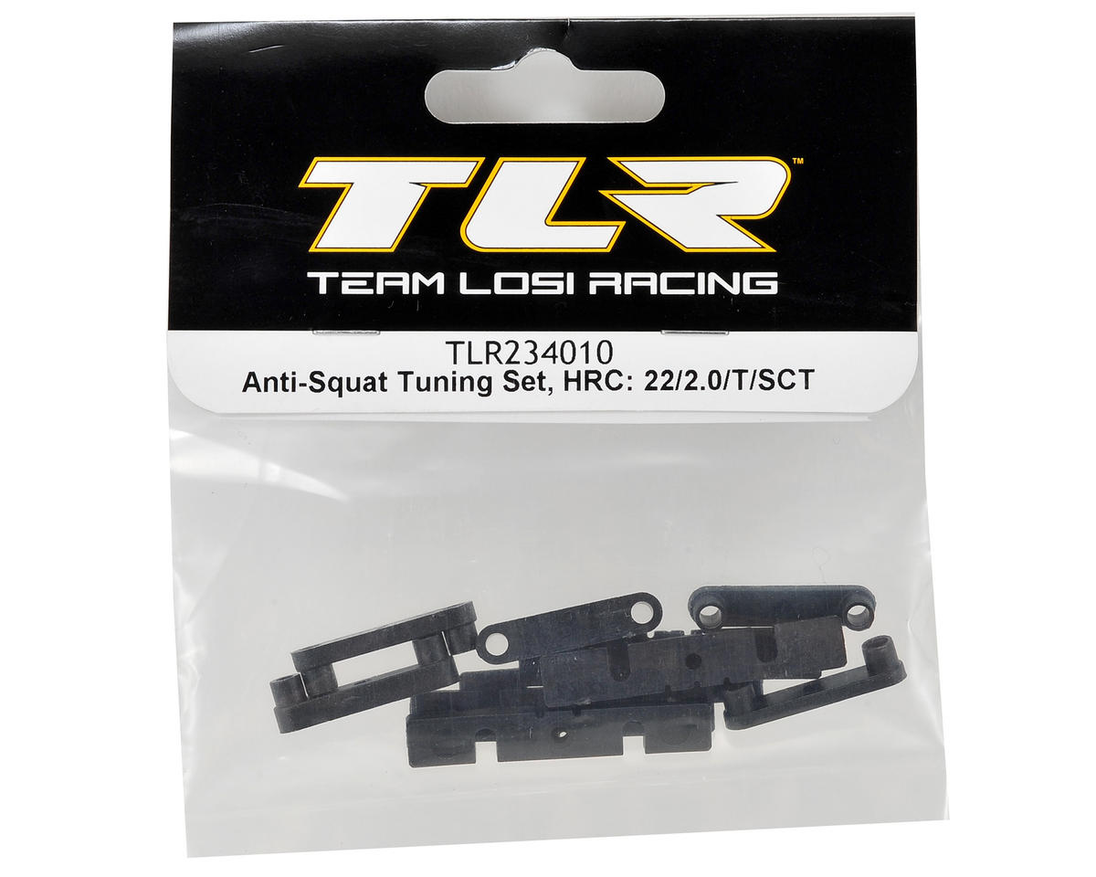 Team Losi Racing HRC Anti-Squat Tuning Set