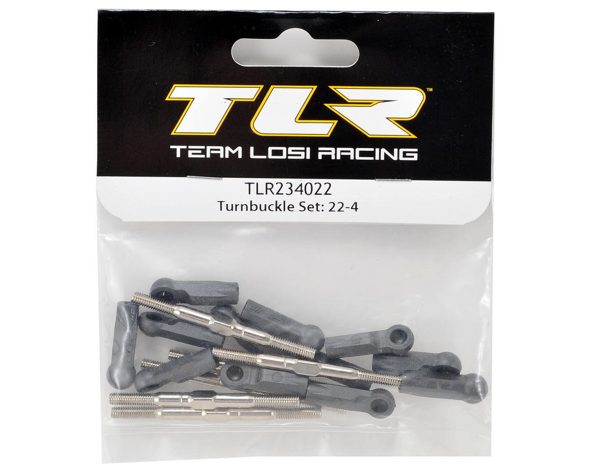 Team Losi Racing 22-4 Turnbuckle Set