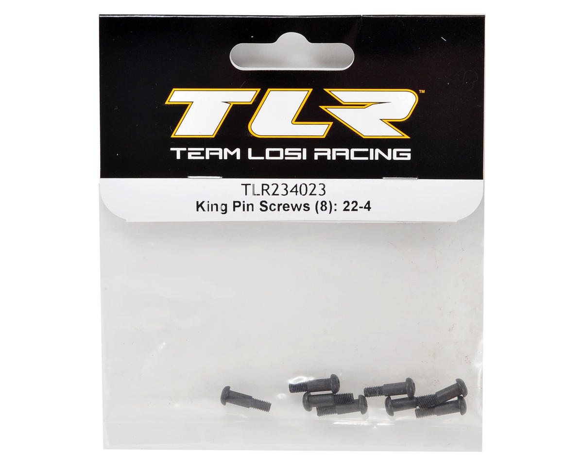 22-4 King Pin Screws (8) by Team Losi Racing
