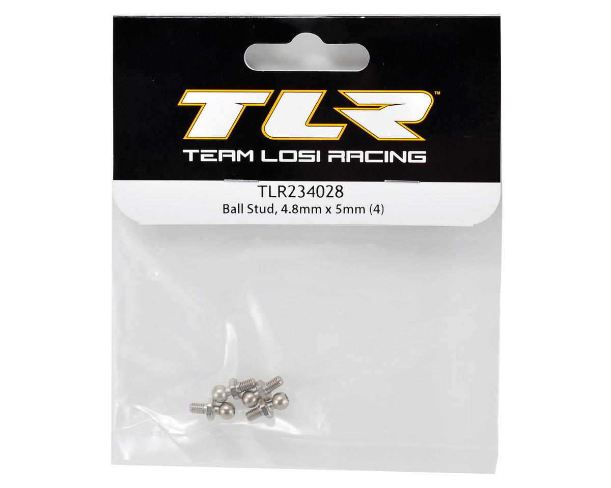 Team Losi Racing 22-4 4.8x5mm Ball Stud (4)