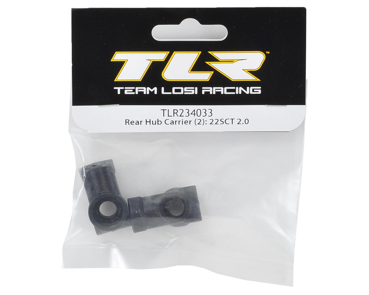 Team Losi Racing Rear Hub Carrier (2)