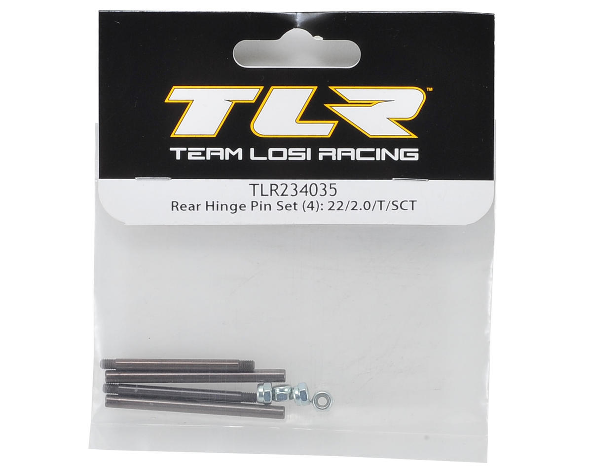 Team Losi Racing Rear Hinge Pin Set (4)