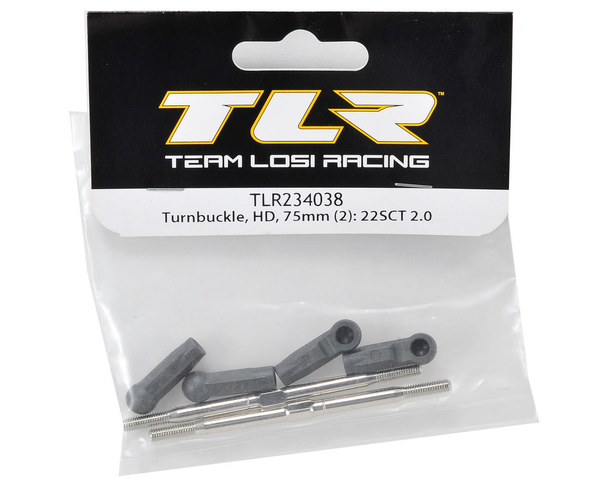 Team Losi Racing 75mm HD Turnbuckle (2)