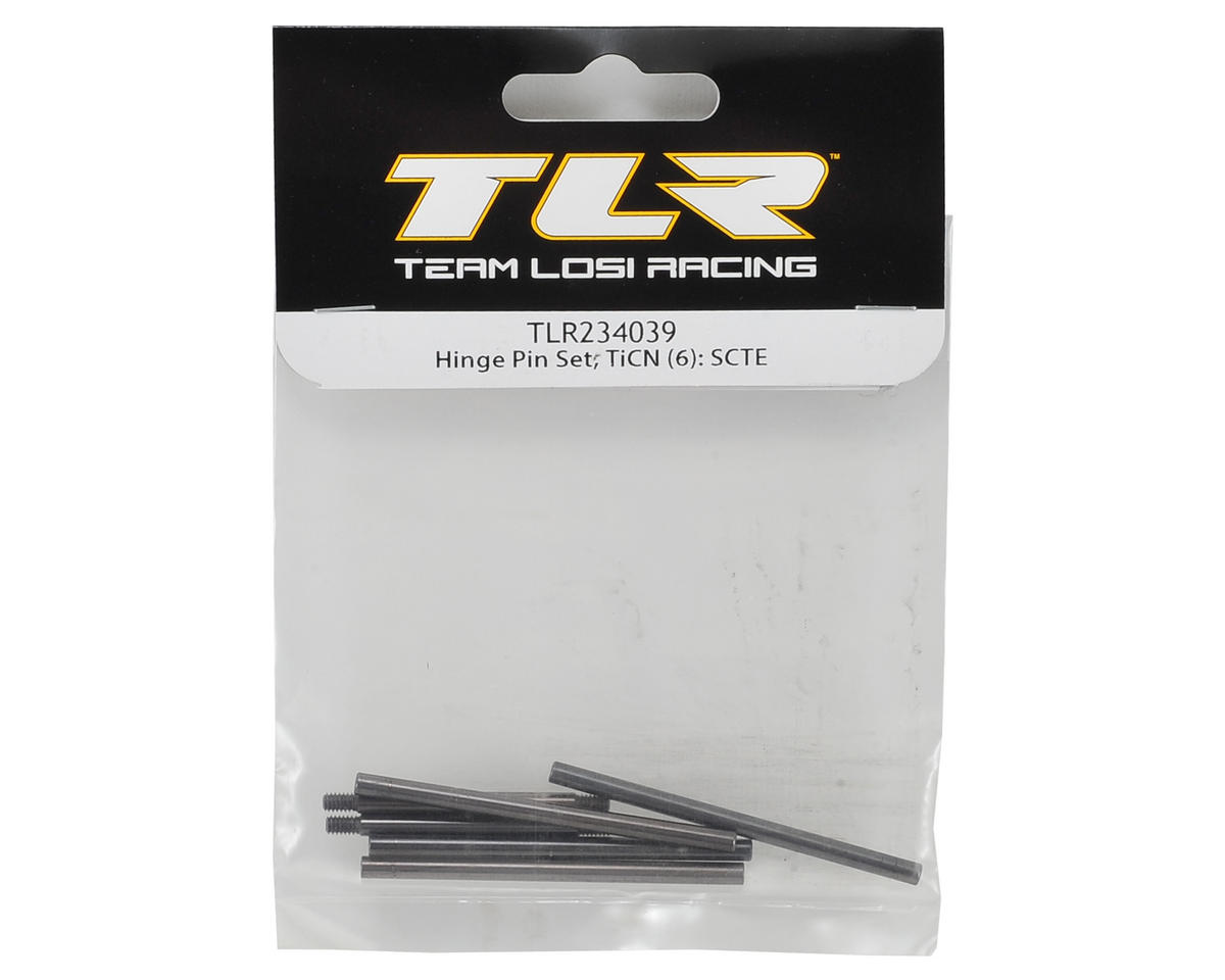 Team Losi Racing TiCn Hinge Pin Set (6)