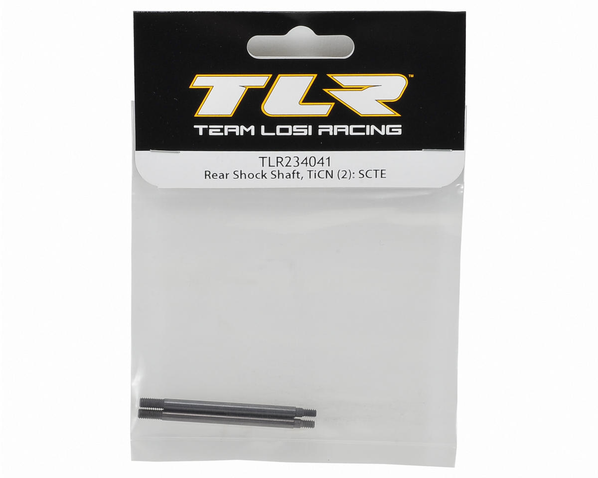 Team Losi Racing TiCn Rear Shock Shaft Set (2)