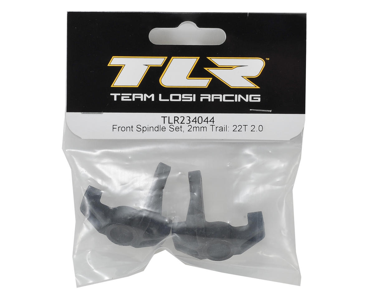 Team Losi Racing 2mm Trailing Spindle Set
