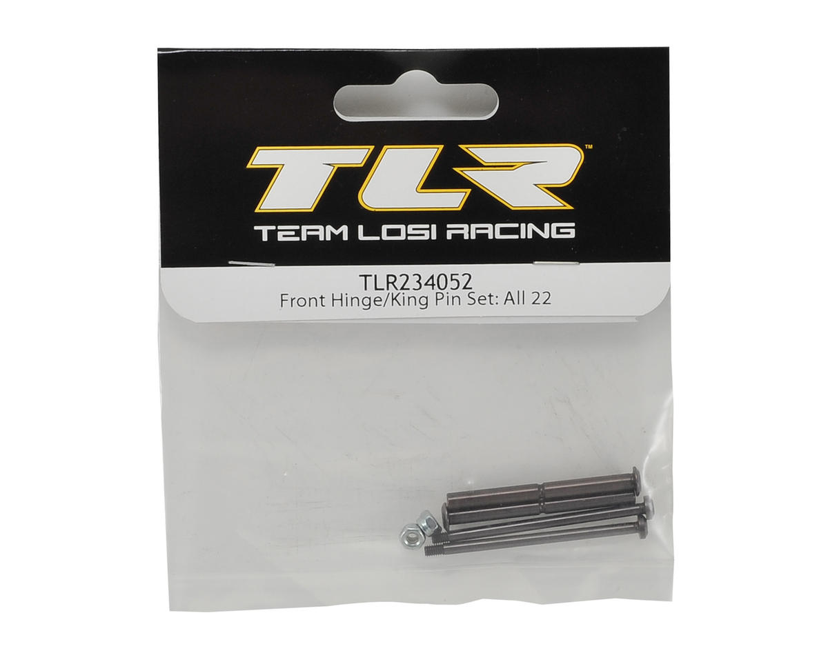 Team Losi Racing 22 3.0 Front Hinge & King Pin Set