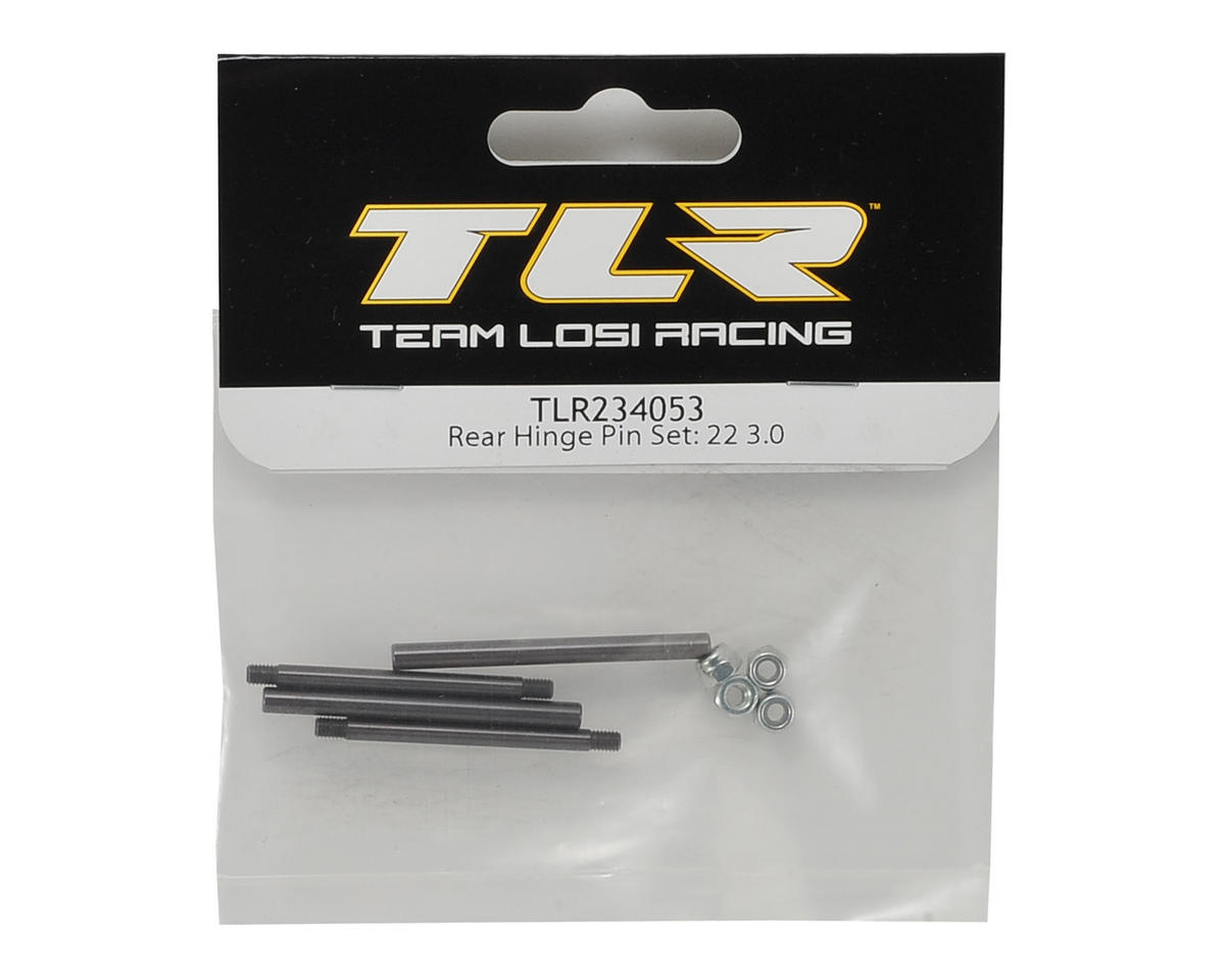 22 3.0 Rear Hinge Pin Set by Team Losi Racing