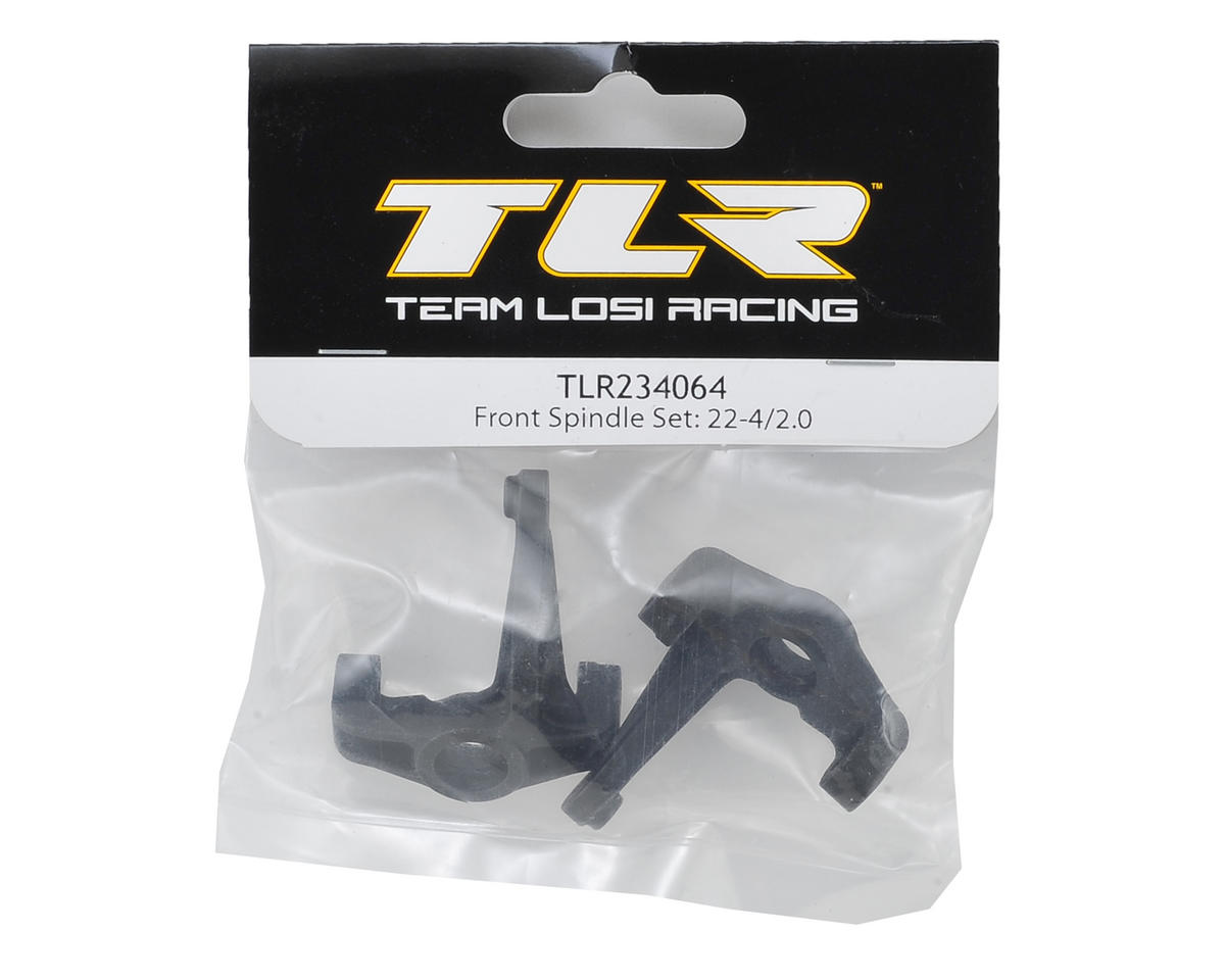22-4 2.0 Front Spindle Set by Team Losi Racing