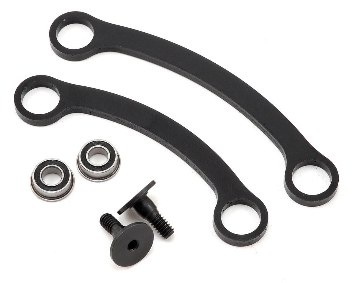 TEN-SCTE 3.0 Steering Rack Set w/Bearings by Team Losi Racing