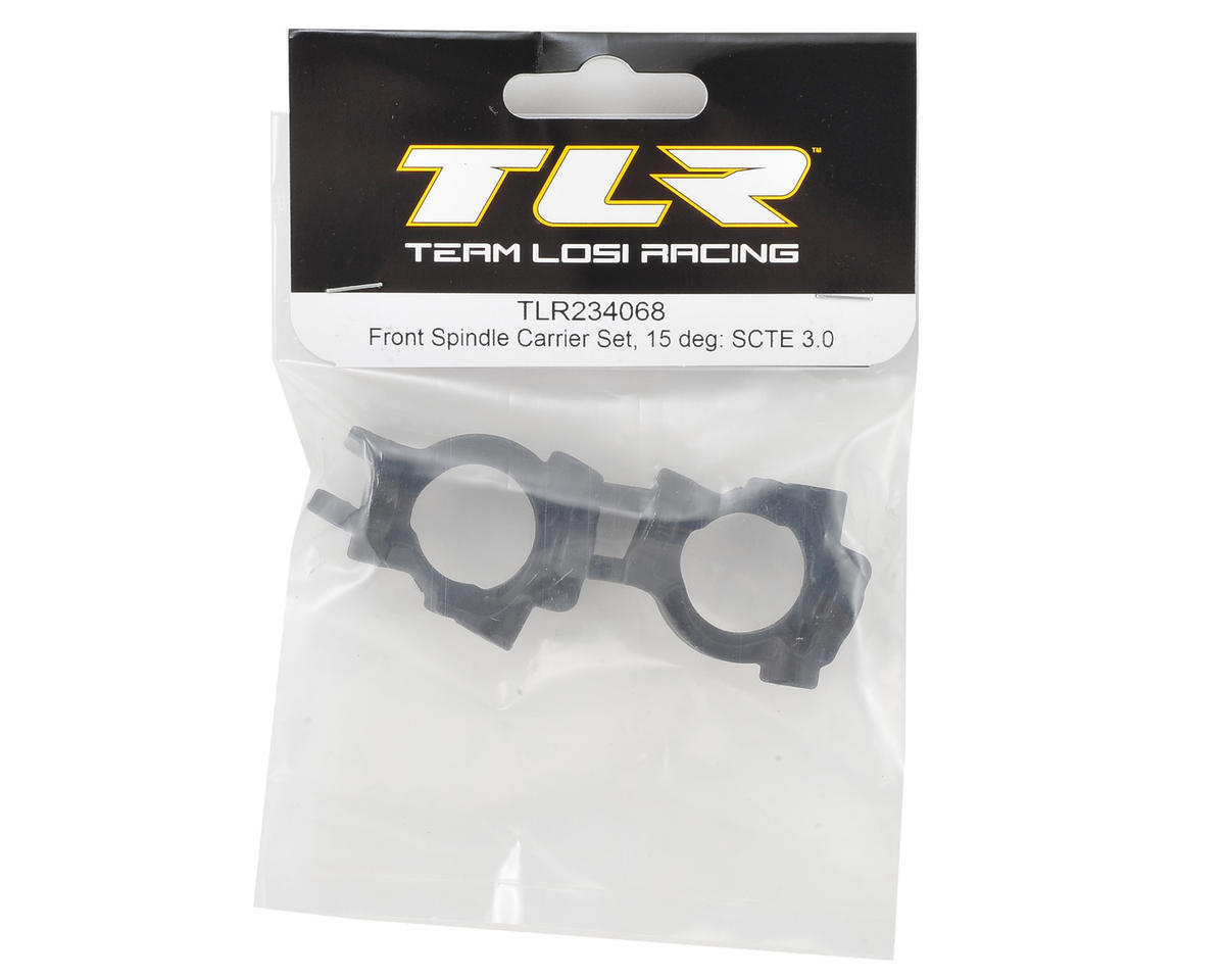Team Losi Racing 15° TEN-SCTE 3.0 Front Spindle Carrier Set