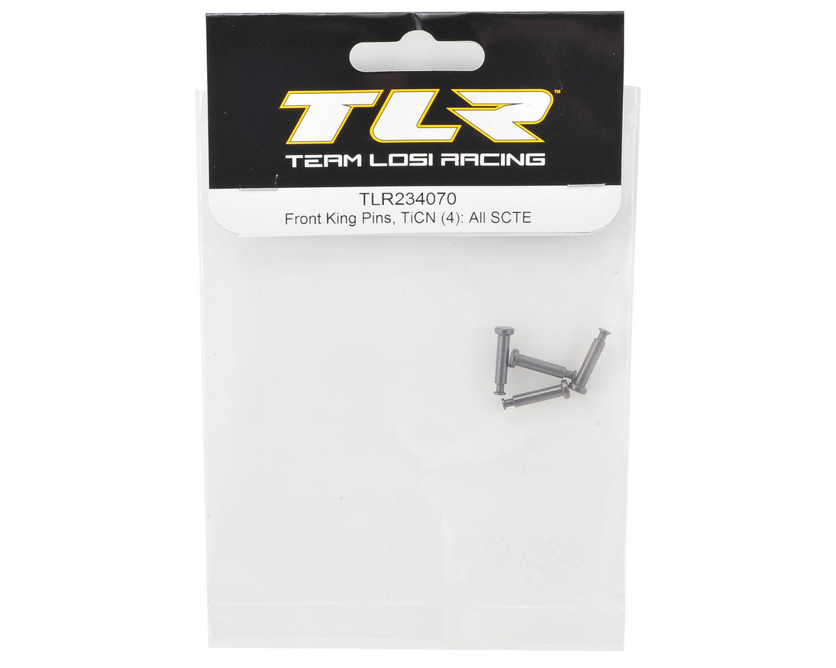 Team Losi Racing TEN-SCTE 3.0 TiCN Front King Pin (4)