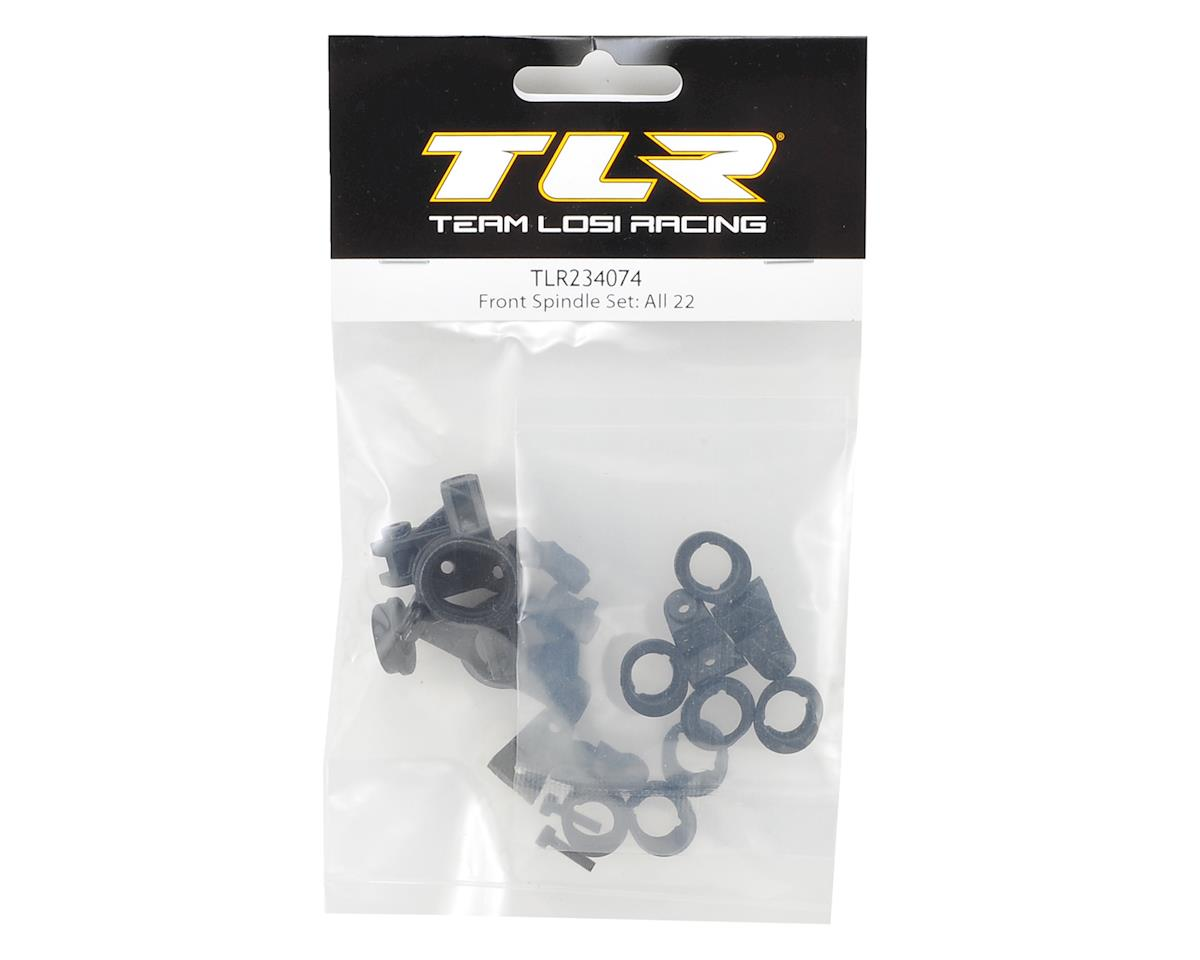 Team Losi Racing Front Spindle Set (All 22 Vehicles)