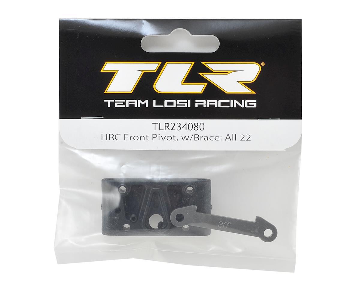 Team Losi Racing 22 4.0 HRC Front Pivot w/Brace