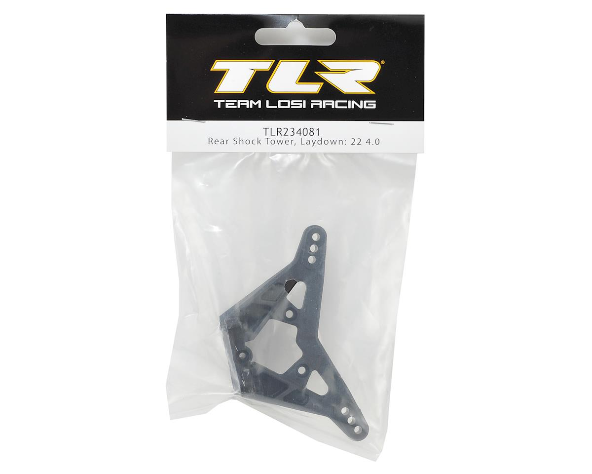 Team Losi Racing 22 4.0 Laydown Rear Shock Tower
