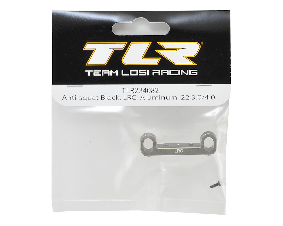 Team Losi Racing 22 4.0 Aluminum LRC Anti-Squat Block