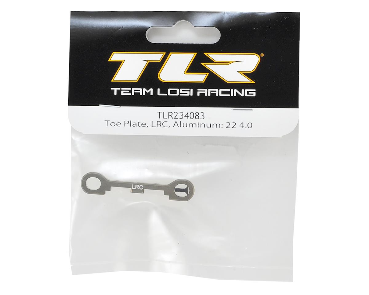 Team Losi Racing 22 4.0 Aluminum LRC Toe Plate