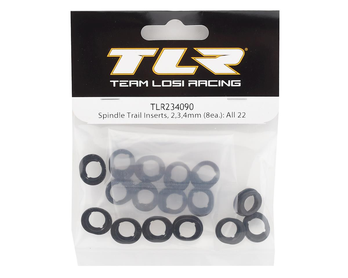 Team Losi Racing Spindle Trail Inserts (2,3,4mm)