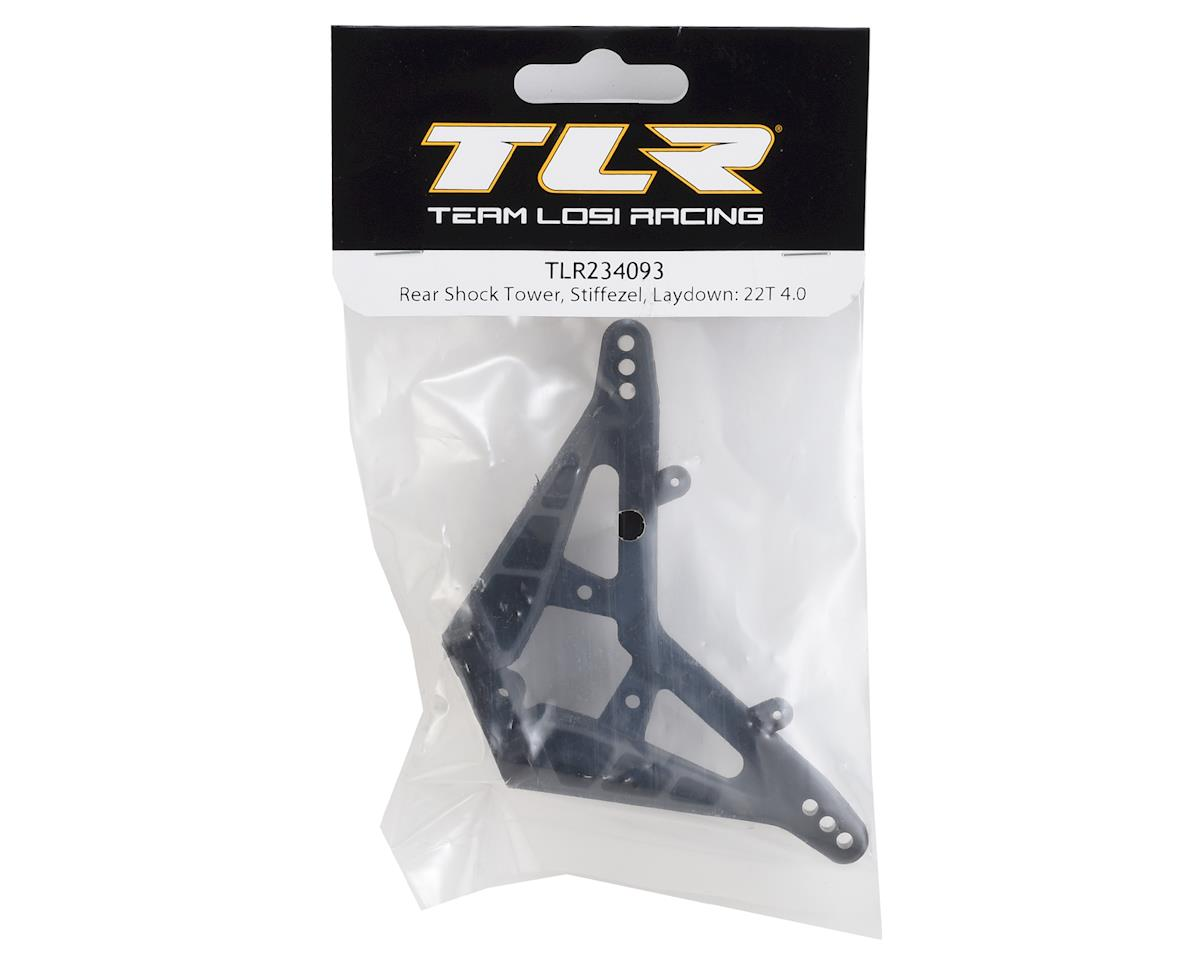 Team Losi Racing Stiffezel Laydown Rear Shock Tower (22T 4.0)