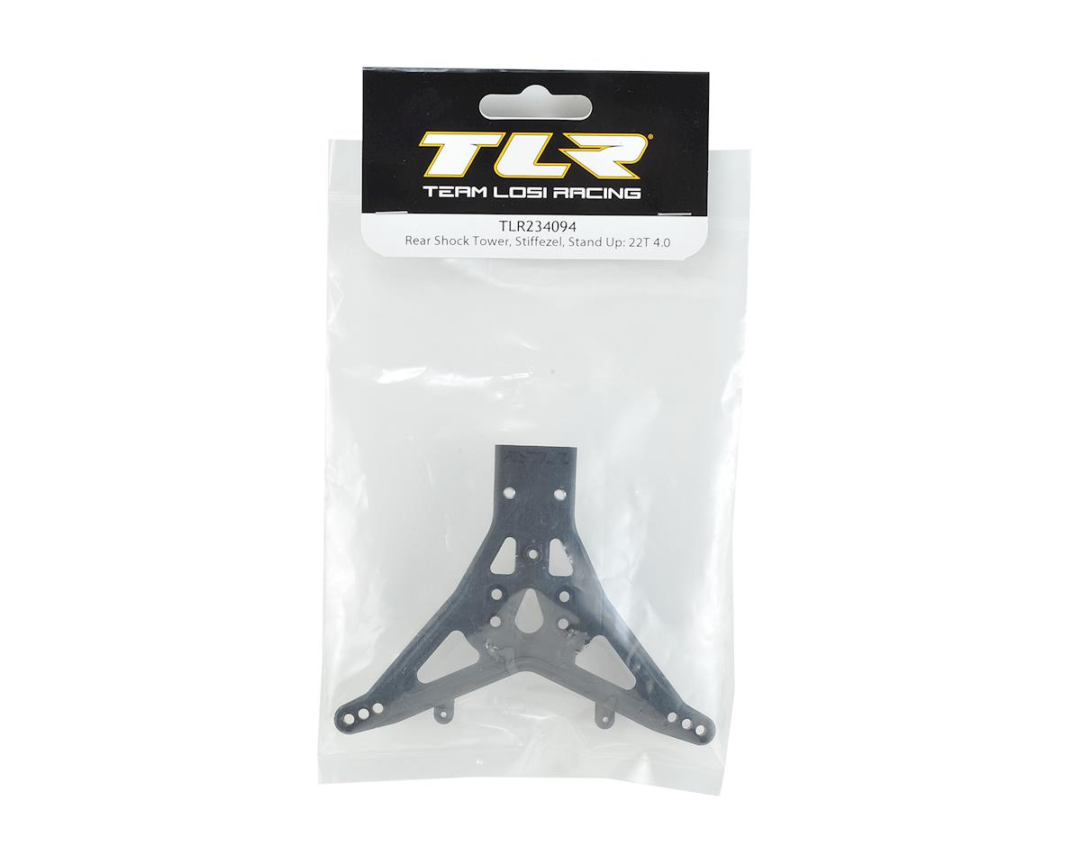 Team Losi Racing 22T 4.0 Stiffezel Stand Up Rear Shock Tower