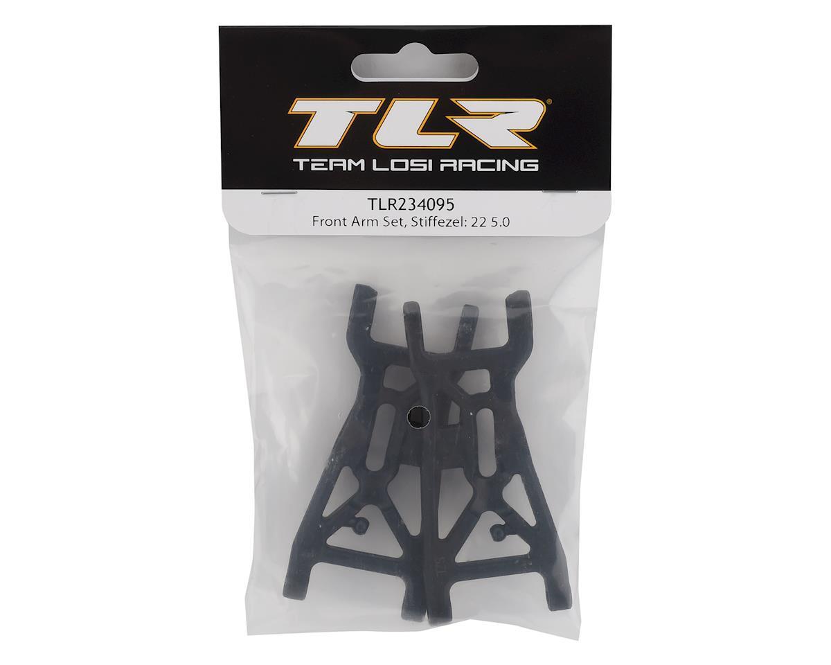 Team Losi Racing 22 5.0 Stiffezel Front Arm Set