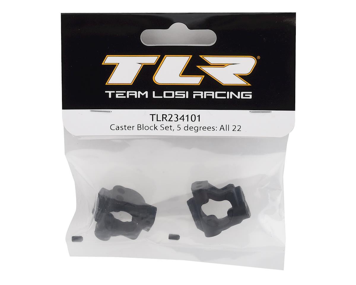 Team Losi Racing 5° Caster Block Set
