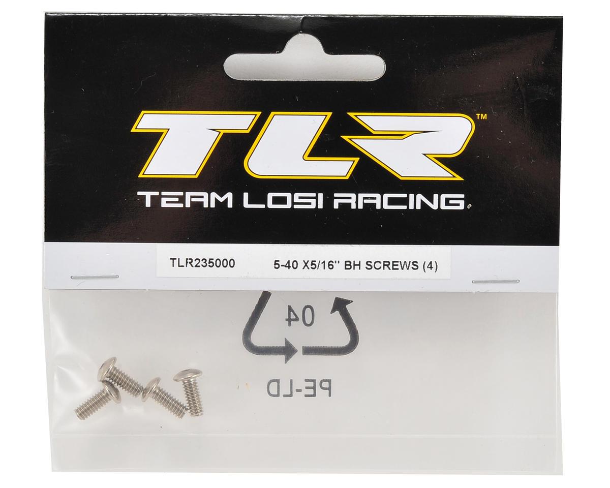 """Team Losi Racing 5-40 x 5/16"""" Button Head Screw (4)"""